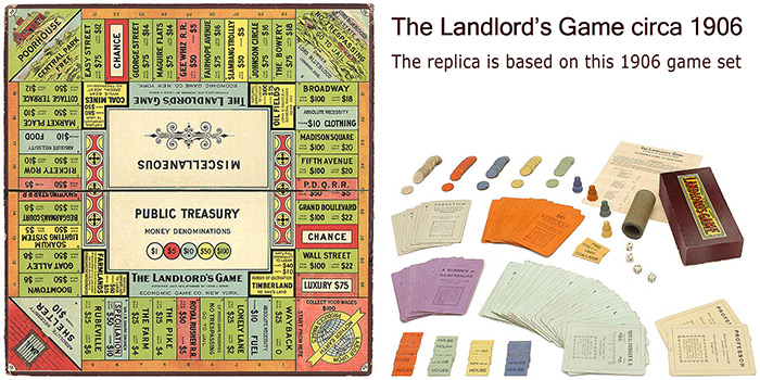 the history of the landlord s game monopoly