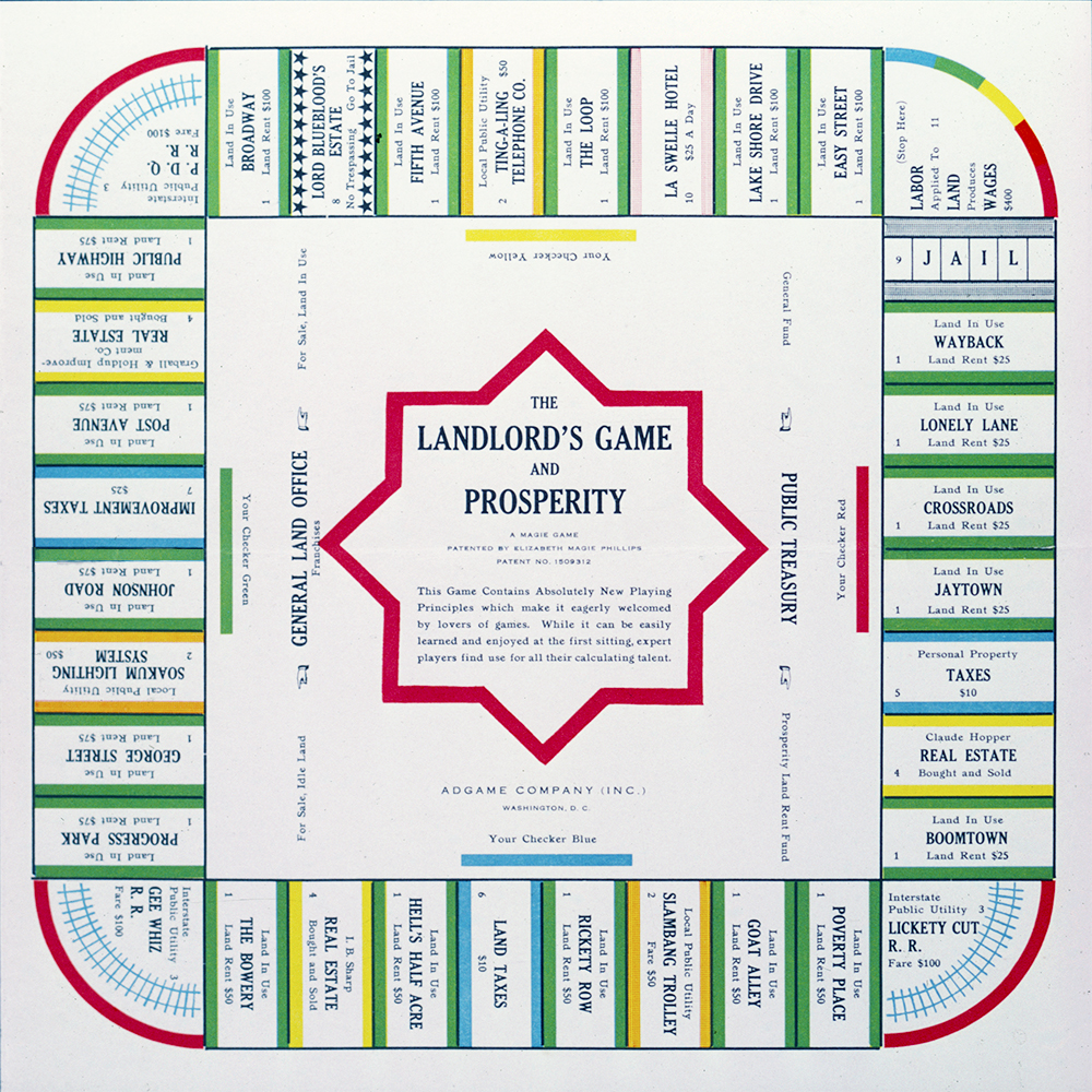 Landlord's and Prosperity Game - 1932 - Images